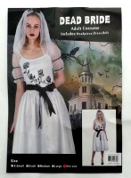 37504939 COSTUME ADULT DEAD BRIDE 093167 EACH R395