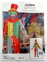 37504946 COSTUME ADULT CLOWN (MALE) 093504 EACH R470