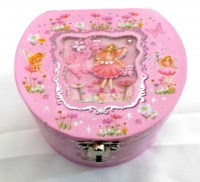 51351199 MUSICAL JEWELERY BOX FAIRY EACH R225