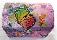 51351205 MUSICAL JEWELERY BOX FAIRY B FLY EACH R225