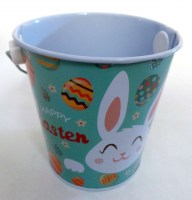 57301495 IRON BUCKET WITH HANDLE EASTER (M) 10.5 R36